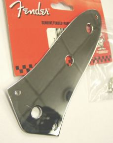 Fender Jazz Bass '62  3-hole Control Plate Chrome  099-2055-000    0992055000